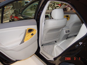 camry leather car seat